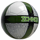 Ichnos Poiwhana lime soccer football match ball official size 5