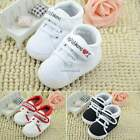 Infant Toddler Baby Boy Girl Soft Sole Crib Shoes Sneaker Newborn-18 Month N4U8
