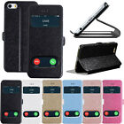 "EW Slim Flip Leather Wallet Stand Case Cover For Apple iPhone 6 4.7"" Plus 5.5"""