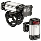 Lezyne KTV Drive Pro USB Rechargeable Bike / Cycle Lightset - Pair
