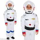 Kids Spaceman Astronaut Fancy Dress Costume Space Boy Spacesuit  Age 4-12 years