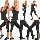 Stretch Fajate Fit Woman's Work Out Push Up Pants, Capri, Tops, Tanks, Flow