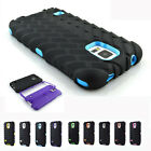 2017 Rugged Protective Hybrid Hard Rubber Case Cover For Samsung Galaxy S5 i9600