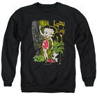 Betty 1930's Boop Cartoon American Icon Luau Lady Adult Crewneck Sweatshirt $34.95 USD on eBay