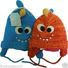 Baby Toddler Chunky Knitted Monster Hat Fully Lined 3-6, 6-12, 12-14 Months