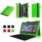 20 Colors Leather Case Cover For 10.6 inch Microsoft Surface RT 2 Tablet Stand