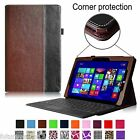 Leather Case Cover with keyboard Holder for Microsoft Surface 3 Tablet 10.8-inch
