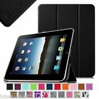 Ultra Slim Lightweight PU Leather Stand Case Cover for Apple iPad 1 1st Gen