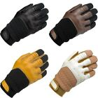 Biltwell Bantam Leather Vintage Motorcycle Gloves All Sizes All Colors