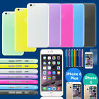 For iPhone 6 6S 6 Plus Ultra Thin Slim Matte Hard Back Clear Case Cover Skin