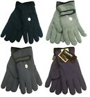 Mens Thinsulate Anti Pilling Fleece Winter Gloves ~ 4 Colours