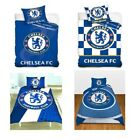 CHELSEA FC SINGLE AND DOUBLE DOONA COVER SETS BEDDING BEDROOM FREE P+P