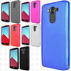 For LG V10 Frosted TPU CANDY Gel Flexi Skin Case Cover Accessory