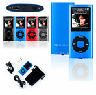 "8GB Slim Digital MP3 MP4 MP5 Player 1.8"" LCD Screen FM Radio Video Games Movie"