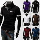 New fashion summer Men's Clothing short sleeves Sports T-shirt