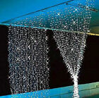 300/600 LED Fairy Curtains String Light for Xmas Party Wedding Connectable 24V