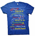 Elf Map - Will Ferrell Holiday Ugly Christmas- T-shirt