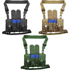 Every Day Carry Tactical 8 Magazine Pouch Snap Buckle Chest Rig Vest