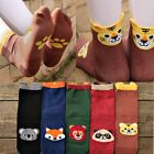 Womens Korean Winter Cartoon Casual Socks Animal Cotton Stereo Hosiery Stocking
