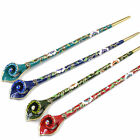Women Metal Hair Stick Rhinestone Hair Chopsticks Hairpin Chignon Pin Handmade