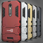 Slim Hybrid Armor Phone Cover Case for Motorola Droid Turbo 2 / X Force / Bounce
