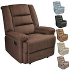 Luxury Modern Latest Fashion Linen Look Recliner Chair Sofa