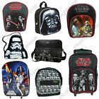 STAR WARS BAGS DARTH VADER STORMTROOPER & MORE CHARACTERS 100% OFFICIAL NEW