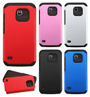 For Huawei Union Y538 HARD Astronoot Hybrid Rubber Silicone Case + Screen Guard
