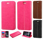 For HTC One A9 Premium Wallet Case Pouch Flap STAND Phone Cover + Screen Guard