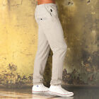 Mens Luke 1977 Robinson Jog Pants In Grey Marl From Get The Label