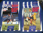 WEST BROMWICH ALBION HOME PROGRAMMES 1990-1991