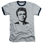 James Dean Icon Movie Actor Dean Adult Ringer T-Shirt Tee