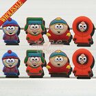 100PCS South Park Cartoon Cute PVC Shoe Charms for jibz ,Shoe Accessories Gifts