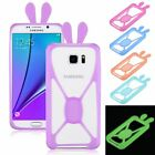 Flexible Universal Cell Phone Bumper Case Fluorescent Soft Silicone Frame Cover
