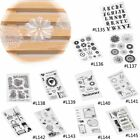 1 Sheet Silicone Clear Transparent Stamps Seal For DIY Scrapbooking Photo Album