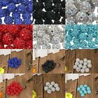 Round Pave Crystal Rhinestones Czech Clay Loose Spacer Beads Craft DIY Findings