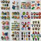 Random 1000PCS Inside Out PVC SHOE CHARMS For Bands JIBZ Bracelets Kids Gifts