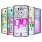 HEAD CASE DESIGNS FRASI WANDERLUST COVER RETRO RIGIDA PER LG TELEFONI 1