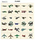 PLANES. CARD machine embroidery designs jef files for janome 300e flying