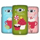 HEAD CASE DESIGNS HOLIDAY TREATS HARD BACK CASE FOR SAMSUNG PHONES 4
