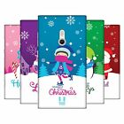 HEAD CASE DESIGNS CHRISTMAS TIDINGS HARD BACK CASE FOR NOKIA PHONES 2