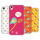 HEAD CASE DESIGNS BIRD PATTERNS HARD BACK CASE FOR LG PHONES 2