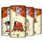 HEAD CASE DESIGNS AUTUMN CRITTERS HARD BACK CASE FOR LG PHONES 1