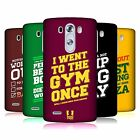 HEAD CASE DESIGNS FUNNY WORKOUT STATEMENTS HARD BACK CASE FOR LG PHONES 1