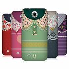 HEAD CASE DESIGNS FLORAL COLLAR HARD BACK CASE FOR HTC PHONES 3