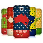 HEAD CASE DESIGNS PRINTED COUNTRY MAPS HARD BACK CASE FOR HTC PHONES 3