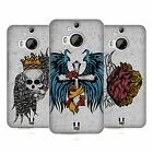 HEAD CASE DESIGNS TATTOO WINGS HARD BACK CASE FOR HTC PHONES 2