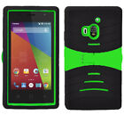 U-Stand Hybrid Kickstand Armor Case Phone Cover for Coolpad Rogue 3320A 3320