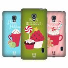 HEAD CASE DESIGNS HOLIDAY TREATS HARD BACK CASE FOR LG PHONES 3