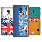 HEAD CASE DESIGNS LONDON CITYSCAPE HARD BACK CASE FOR LG PHONES 3